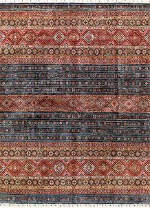 Multi Colored Kazak 8' 2 x 9' 10 - SKU 71285