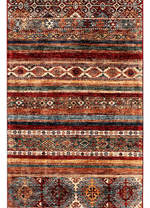 Multi Colored Kazak 2' 8 x 9' 5 - SKU 71289
