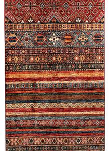 Multi Colored Kazak 2' 7 x 9' 8 - SKU 71290