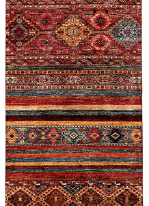 Multi Colored Kazak 2' 9 x 9' 6 - SKU 71295