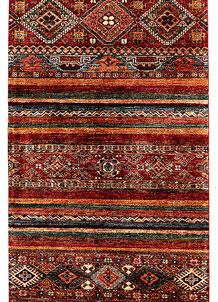 Multi Colored Kazak 2' 8 x 9' 4 - SKU 71296
