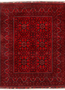 Firebrick Khal Mohammadi 5' 1 x 6' 4 - SKU 71303