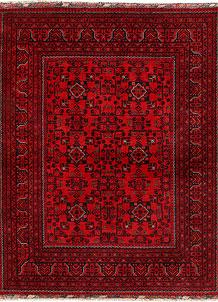 Firebrick Khal Mohammadi 4' 11 x 6' 5 - SKU 71304
