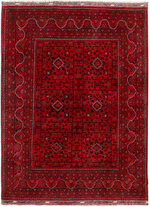 Firebrick Khal Mohammadi 4' 10 x 6' 6 - SKU 71306