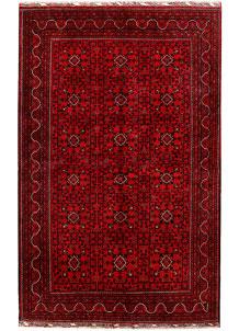 Firebrick Khal Mohammadi 6' 2 x 9' 6 - SKU 71311