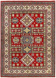 Red Kazak 4' 10 x 6' 11 - SKU 71330