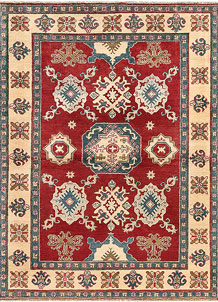 Firebrick Kazak 4' 10 x 6' 8 - SKU 71331