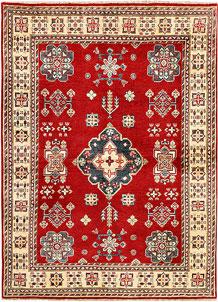 Red Kazak 4' 9 x 6' 7 - SKU 71332