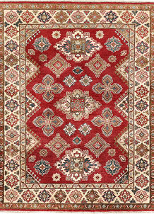 Red Kazak 5' x 6' 6 - SKU 71334