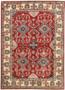 Red Kazak 4' 10 x 6' 9 - SKU 71336