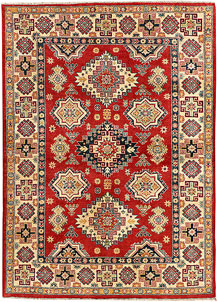 Red Kazak 4' 10 x 6' 11 - SKU 71337