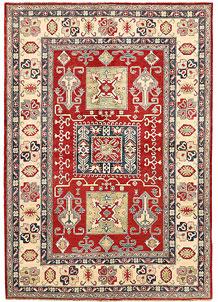 Red Kazak 6' 8 x 9' 7 - SKU 71346