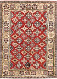 Red Kazak 6' 5 x 8' 10 - SKU 71349