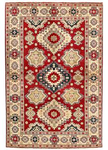 Firebrick Kazak 6' 6 x 10' - SKU 71355