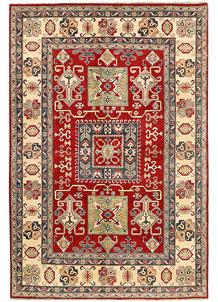 Red Kazak 6' 6 x 9' 9 - SKU 71356