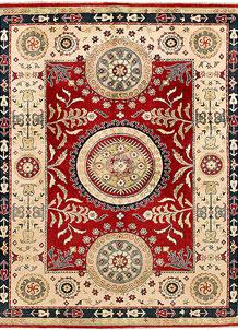Firebrick Kazak 7' 9 x 9' 9 - SKU 71359