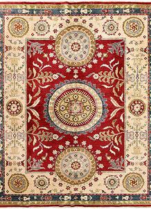 Red Kazak 7' 10 x 9' 5 - SKU 71361
