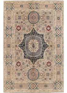 Bisque Mamluk 5' 11 x 8' 10 - SKU 71369