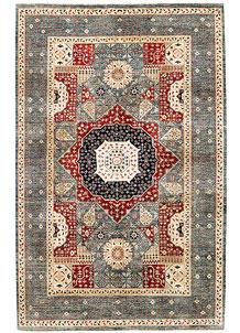 Multi Colored Mamluk 6' 5 x 9' 10 - SKU 71371