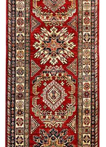 Red Kazak 2' 7 x 9' 10 - SKU 71375