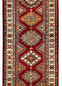 Red Kazak 2' 8 x 9' 8 - SKU 71376