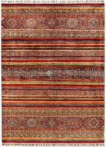 Multi Colored Kazak 5' x 6' 9 - SKU 71379