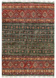 Multi Colored Kazak 4' 10 x 6' 8 - SKU 71384