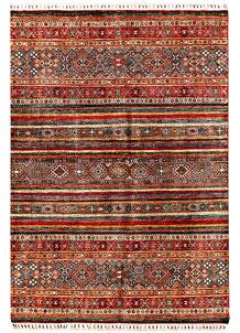 Multi Colored Kazak 5' 7 x 7' 10 - SKU 71385