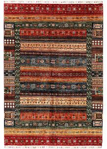Multi Colored Kazak 5' 7 x 7' 10 - SKU 71389