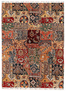 Multi Colored Kazak 5' 8 x 7' 9 - SKU 71396