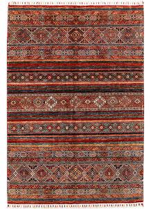 Multi Colored Kazak 5' 8 x 8' 2 - SKU 71401