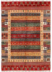 Multi Colored Kazak 5' 9 x 8' - SKU 71405
