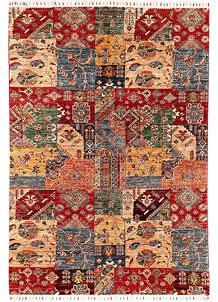 Multi Colored Kazak 5' 8 x 7' 7 - SKU 71406
