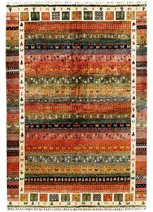 Multi Colored Kazak 6' 7 x 9' 7 - SKU 71411