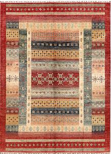Multi Colored Kazak 9' x 12' 2 - SKU 71412