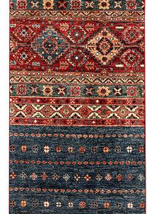 Multi Colored Kazak 2' 7 x 9' 11 - SKU 71416