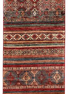 Multi Colored Kazak 2' 9 x 8' 5 - SKU 71417